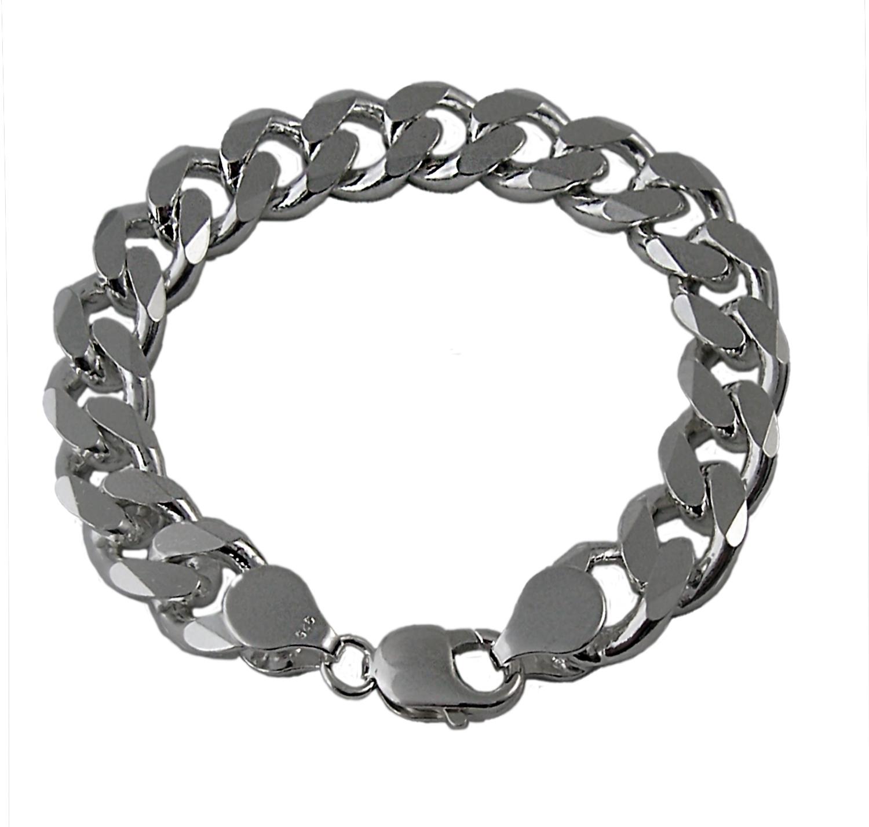 Niklarson Panzerarmband 13mmx23cm Sterling Silber 925 Silberarmband 135130-23