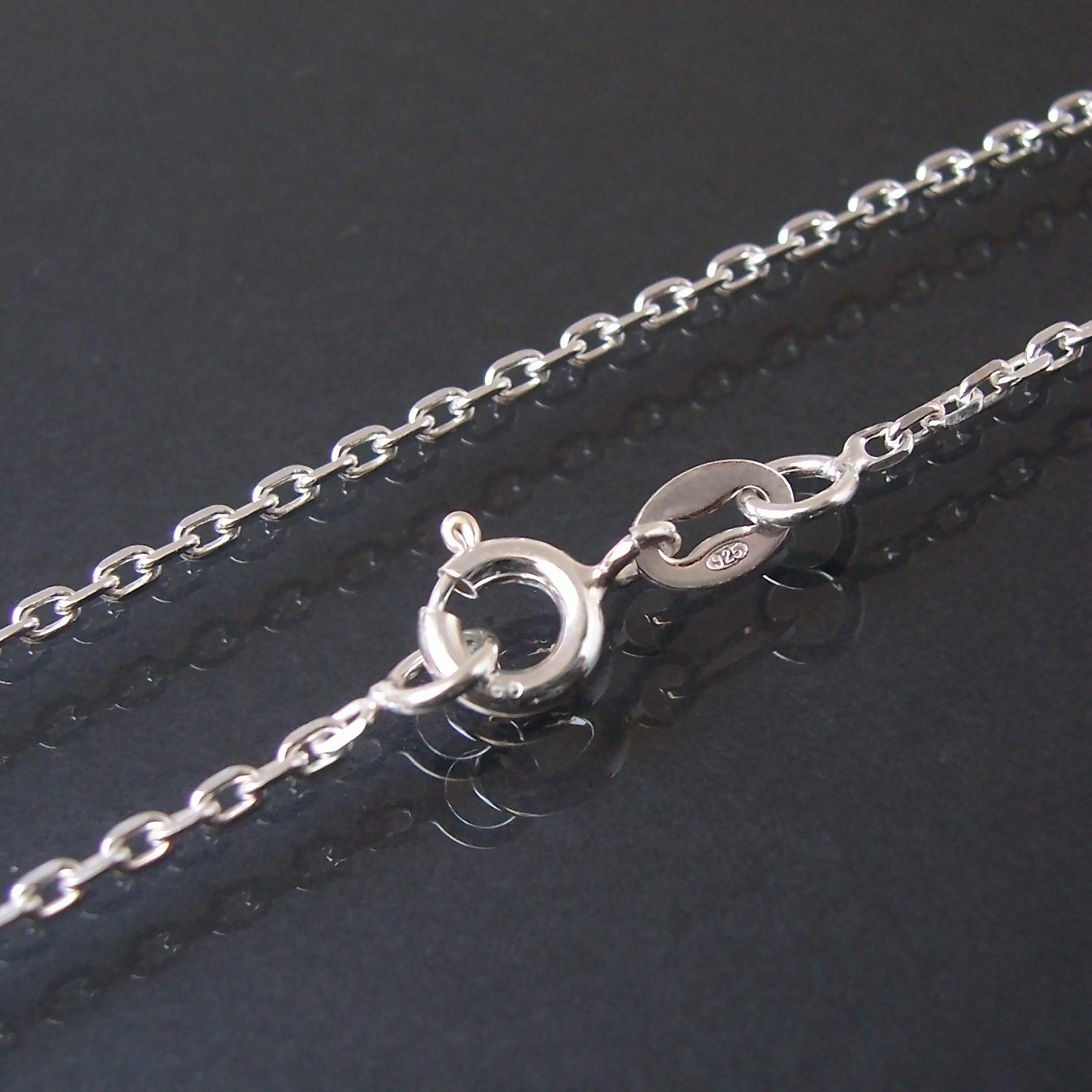 Kette Ankerkette 925 Silber 1,6mm Niklarson Halskette 40cm 18116-40