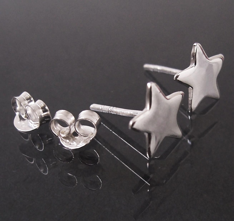 Ohrstecker Stern 8mm Silber 925 Niklarson Ohrringe Schmuck 23508