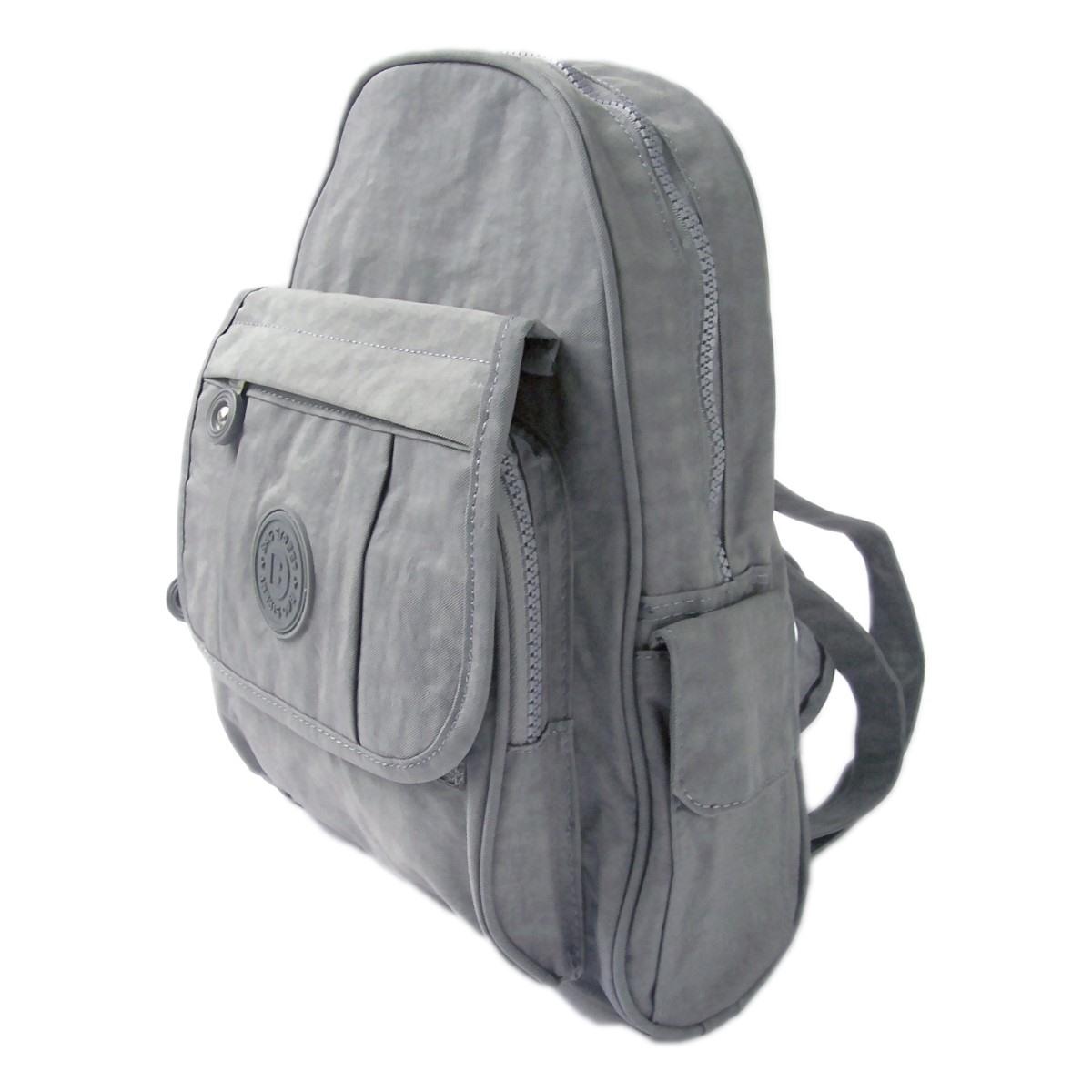 Damen City-Rucksack Freizeit Kinderrucksack Tasche grau Ru2854
