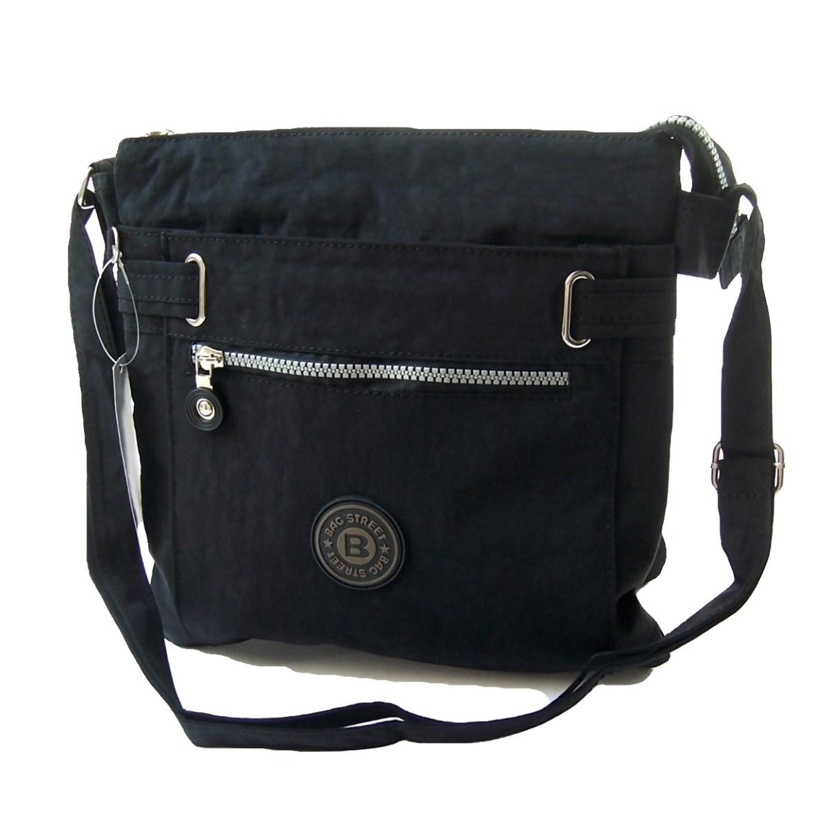 Tasche Umhängetasche Handtasche Bag Street Nylon schwarz Ta5051