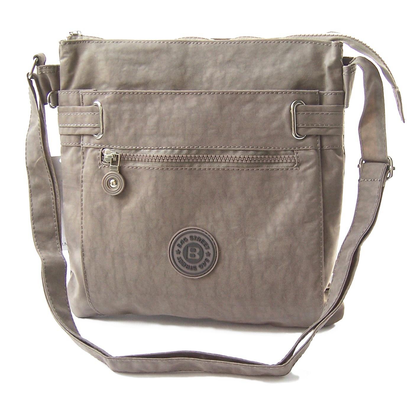 Tasche Umhängetasche Handtasche Bag Street Nylon beige Ta5121