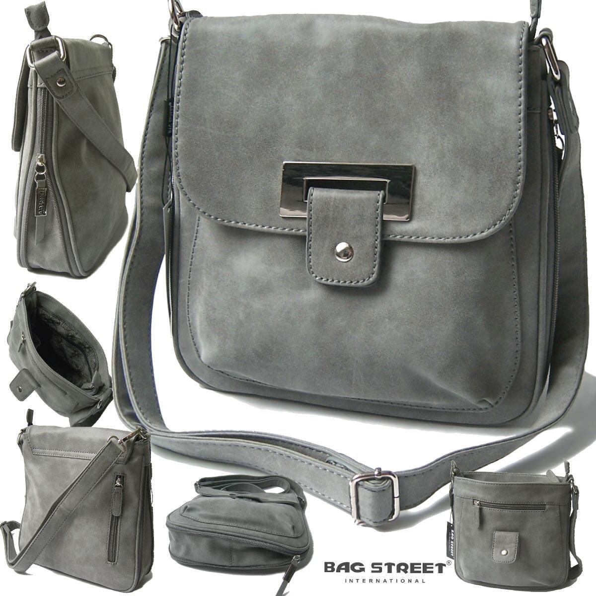 Tasche Umhängetasche Handtasche Damen Bag Street stone washout Ta8039