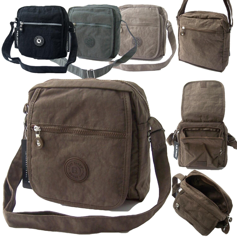 Tasche Umhängetasche Handtasche Bag Street Nylon 21x20cm Crossover VTa11