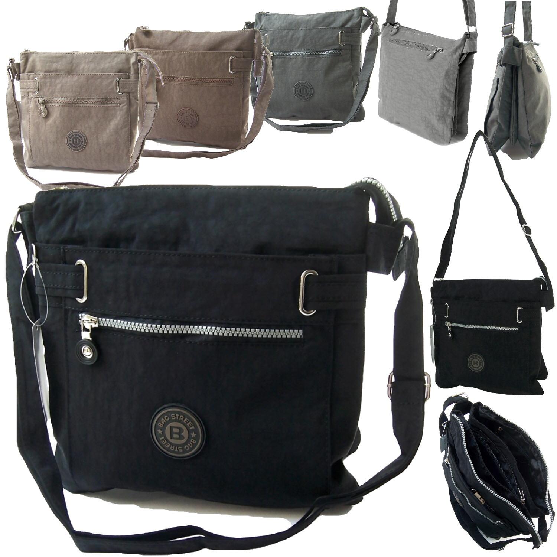 Tasche Umhängetasche Handtasche Bag Street Nylon Crossover 27x28x10cm VTa12